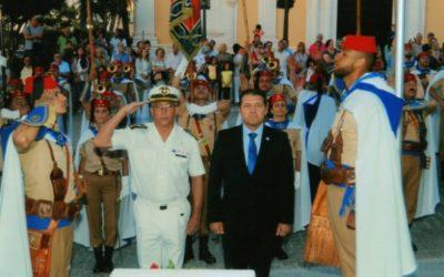 El Colegio de Médicos participa en el Arriado de la Bandera