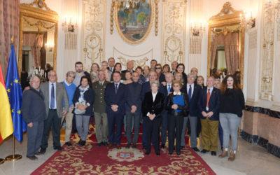 Visita de antiguos alumnos de la Facultad de Medicina de Granada