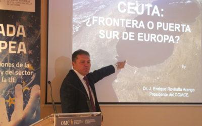 El Fenómeno Migratorio de Ceuta en la VI Jornada Europea sobre Retos de la Profesión Médica
