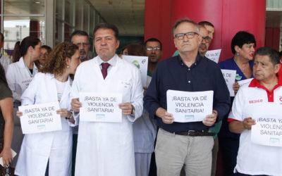 El Colegio de Médicos de Ceuta se Une a la Protesta en Contra de las Agresiones al Personal Sanitario