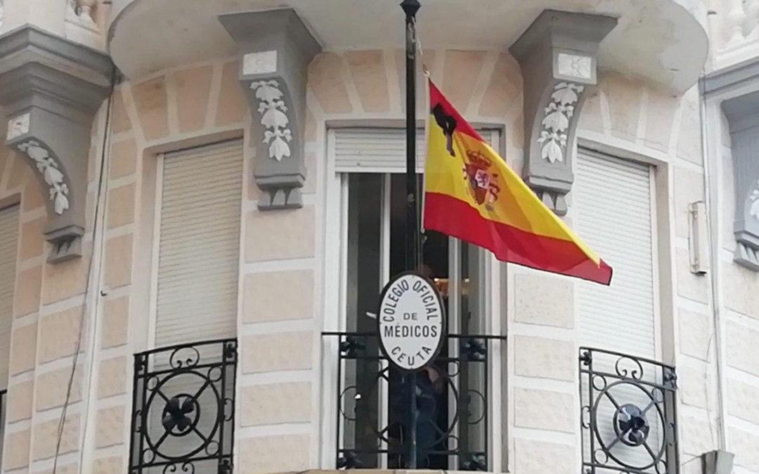 El Colegio de Médicos de Ceuta se declara de luto por las víctimas del coronavirus