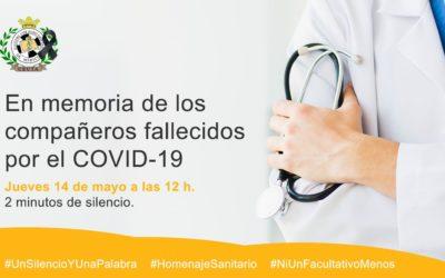 El Colegio de Médicos de Ceuta se suma al homenaje a los sanitarios fallecidos por COVID-19