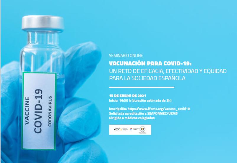 El Dr. Luis Enjuanes encabezará el seminario online 'Vacunación para la COVID-19'