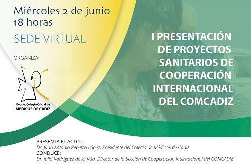 Presentación de proyectos sanitarios de cooperación internacional de COMCádiz
