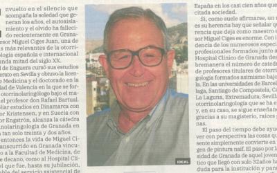 In memoriam Dr. Miguel Ciges, por Ideal