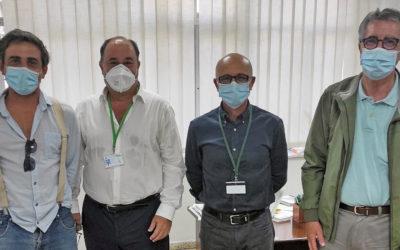 Cooperación Internacional se reúne con el hospital de Cádiz para impulsar un proyecto solidario en Guinea-Bisáu